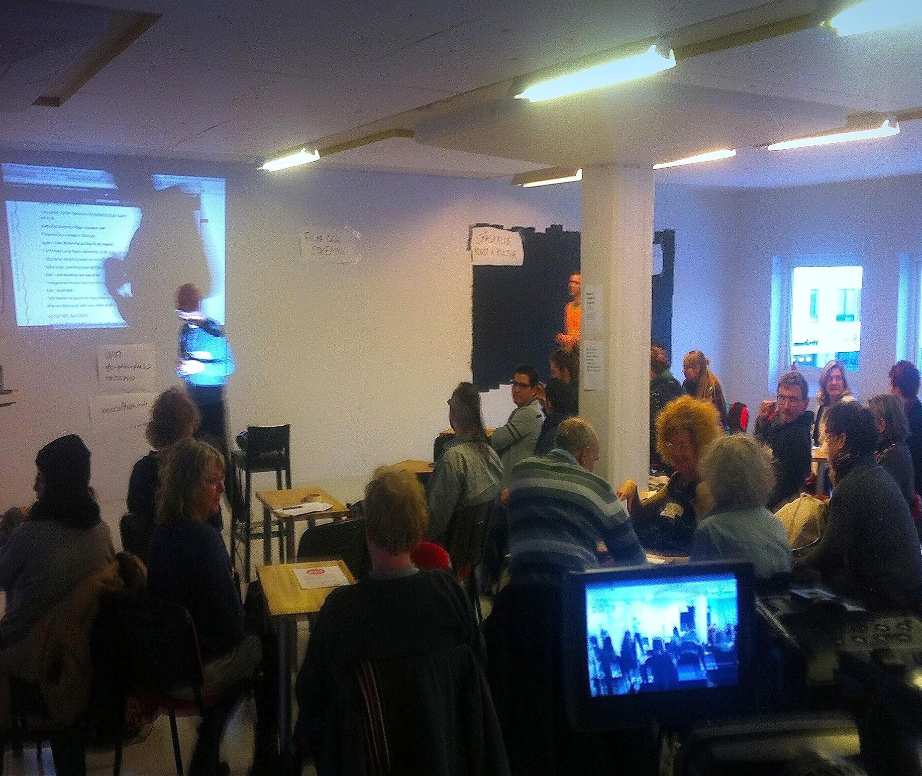 Workshop på DIY-days, Gothenburg Film Studios